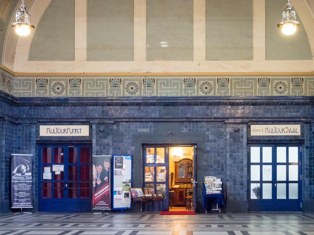Kultourpunkt im Bahnhof, Photo by Volker Bachschneider