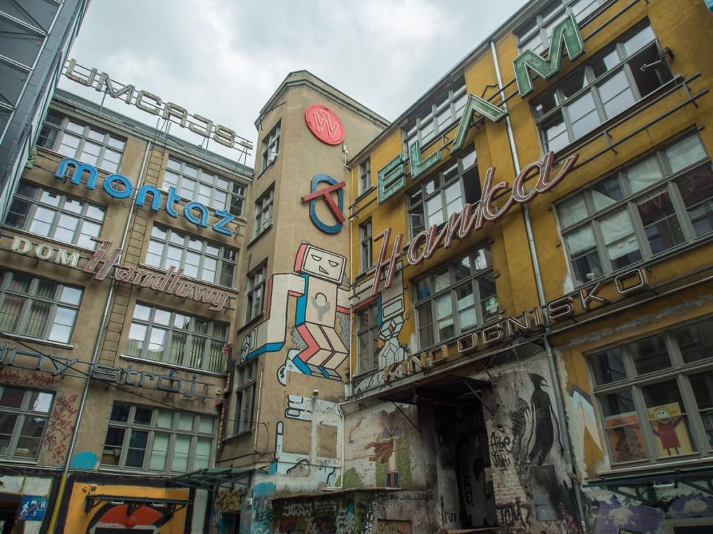 Festivalzentrum TIFF Fotofestival, Wroclaw, Ruska 46. Foto und Copyright: Volker Bachschneider