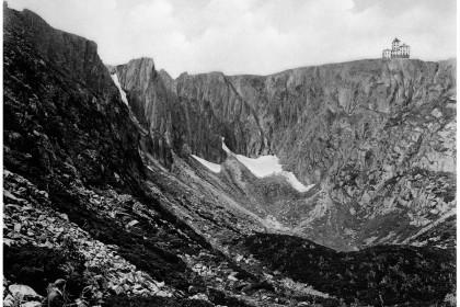 Schneegrube, um 1903