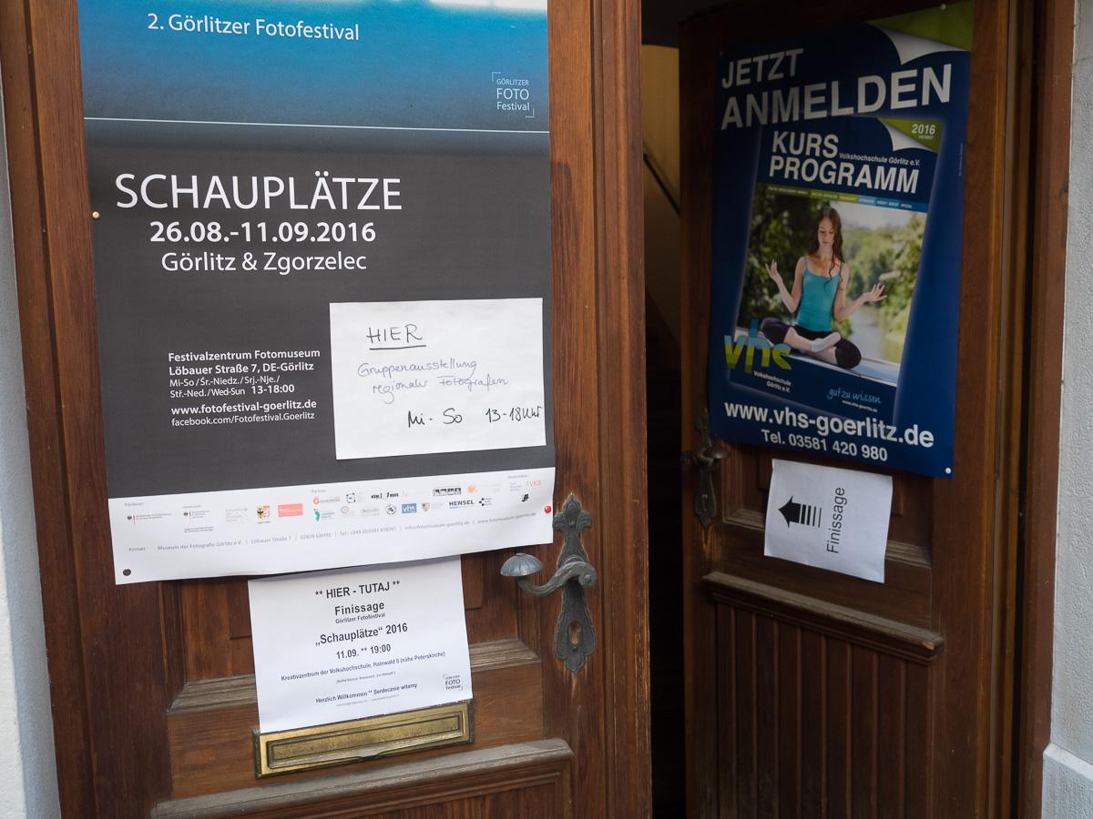 Finissage 2. Görlitzer Fotofestival